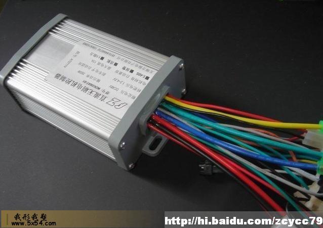 无刷电动车控制器接线方法