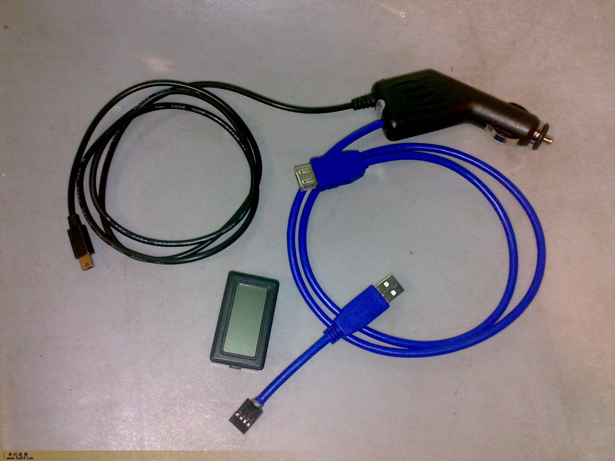 导航仪车载充电器改装增加usb接口